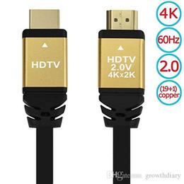 $enCountryForm.capitalKeyWord Australia - DHL Free New HDMI Cable HDMI 2.0 4K * 2K 1080P HD LCD Laptop PS4 Computer Projector Video DVD1.5M3M10M20M50M