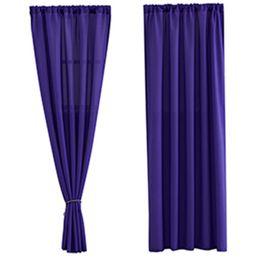 $enCountryForm.capitalKeyWord Australia - Solid Color Curtain Modern Style Living Room Curtain Bedroom Blackout Home Decoration