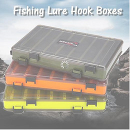 Fishing Lure Jig Tackle Australia - Fishing Lure Box Double Sided Tackle Box Fishing Lure Egi Squid Jig Pesca Accessories Box Minnows Bait Fishing Tackle Container