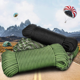 rope meter Canada - 1PC 30.5 Meters Durable Safety Seven Core Umbrella Rope Parachute Rope Outdoor Survival Rope Tent Fixed