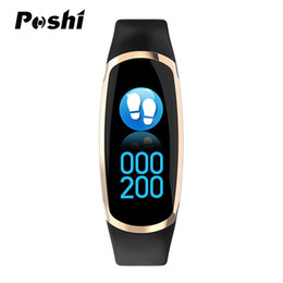 China Smart Watch Sports Blood Pressure wristband Fitness Activity Heart Rate Tracker for Man and Women Sport Watch cheap black plastic wristbands suppliers