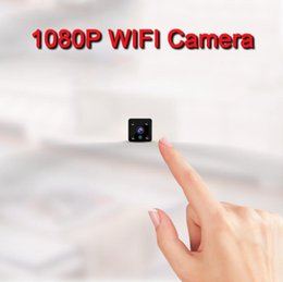 wifi camera viewing angle Australia - 1080P 720P Cheap Wireless WIFI Mini Remote Viewing Home Car Warehourse Camcorder CCTV Camera Motion detection Night vision Wide Angle