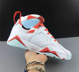 $enCountryForm.capitalKeyWord Australia - Best Quality Womens 7 Grade School White Topaz Mist Ember Glow Gym Red Fashion Basketball Shoes Sale Free Shipping Come With Double Box