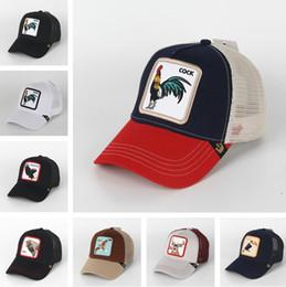 Animal de verão Cap chapéu de sol Snapbacks Designer de luxo chapéus Chapéu do camionista Bordado bonés de beisebol Adultos snapback mens viseira dos homens dos homens em Promoção