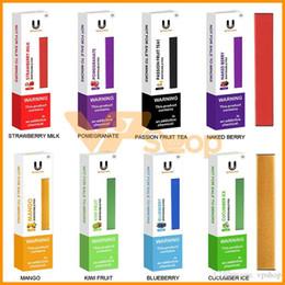 $enCountryForm.capitalKeyWord Australia - 100% Original Uptown Tech Disposable Vape Pen Built-in 280mAh Battery Disposable E Cigarette With 1.3ml Cartridges Pod 8 Flavors E Cig Kit
