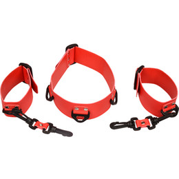 $enCountryForm.capitalKeyWord NZ - BDSM Bondage Neck Collar Cuff Set Restraints Handcuffs Slave Fetish Bondage Gear Erotic SM Toys For Couples Sex Game
