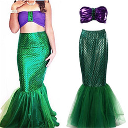 Fantastic costume women online shopping - Summer Fantastic Skirts Women Sequin Mermaid Skirt For Cosplay Party Costume Faldas Mujer