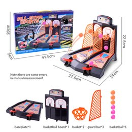 develop board UK - Mini Finger Shoot Basketball Table Basket Board Games Child Double Interaction Game Toy Sports Fun Gift Construction Model