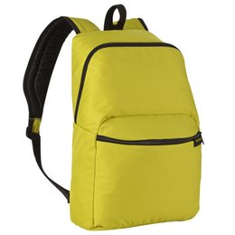 Black Yellow Sports Backpack Australia - Sports Backpack Hiking Rucksack Men Women Unisex Schoolbags Satchel Bag Black Blue Gray Red Yellow