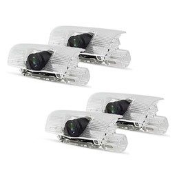 lighting ghost Canada - Car Door LED Light Projector Ghost Shadow Lights Lamp for RX ES GX LS LX IS Series (4 Pack)
