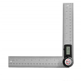 $enCountryForm.capitalKeyWord NZ - 200mm Digital angle ruler protractor angle finder stainless steel Inclinometer Goniometer Electronic Angle measurement tool hot