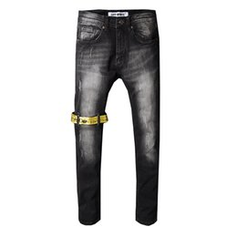 $enCountryForm.capitalKeyWord UK - mens jeans designer jeans Mens Denim Straight Biker Skinny Jeans Casual Trousers Cowboy Famous Brand Zipper Designer Hot Sale