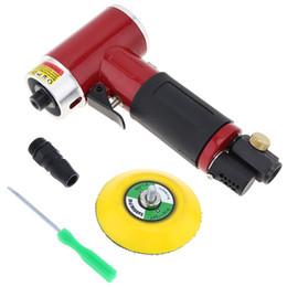Car pneumatiC tool online shopping - 2inch inch Mini Orbital Air Sander Pneumatic Air Tools Buffer Dual Action Orbital Polisher for Car