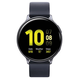 relojes inteligentes samsung al por mayor-Stock S20 Galaxy Watch Active mm Smart Watch IP68 Relojes de ritmo cardíaco real a prueba de agua para Samsung Smart Watch