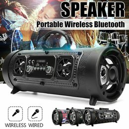 wireless microphone usb computer NZ - CH-M17 Portable Outdoor Bluetooth Speaker Wireless Multifunctional TF Card Surround Sound Speaker with Microphone