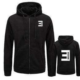 $enCountryForm.capitalKeyWord NZ - Nieuwe herfst Mens Hoodies Eminem Gedrukt Slanke rits Dikker vest Sweatshirt Mannen Sportkleding Mode Kleding S-XXXL size