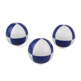 Ingrosso Green Environmental Best Juggling Balls Pagliaccio palla da giocoliere Puzzle Game Ball Set Piccolo morbido palla da giocoliere professionale