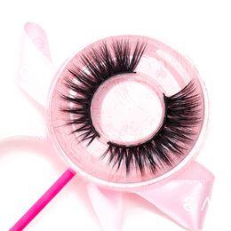 Real human haiR eyelashes online shopping - 3D Mink lashes real mink false eyelashes natural for Beauty Makeup Tool Fake Eyelashes Lashes Private Logo