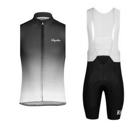 $enCountryForm.capitalKeyWord NZ - RAPHA New men summer Outdoor sports Cycling Sleeveless jersey Breathable Quick dry Vest bib shorts sets trend hot sale Maillot Ropa Ciclismo