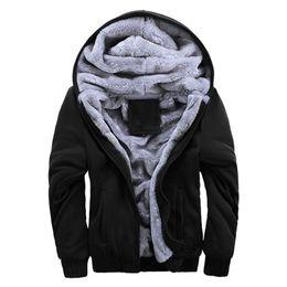 ecca8034290b Zipper Hoodies Short Sleeve UK - 2019 Winter New Tracksuit Men Fashion  Thicken Velvet Casual Hooded