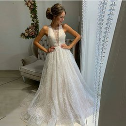 ClassiC printing online shopping - Summer Beach Sleeveless Long Prom Party Dresses A Line Tulle Cheap Sequins Printed Women Casual Dress Formal Party Evening Gowns