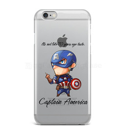 avengers iphone 5s case NZ - Spiderman Iron Man Captain America Avengers Phone Case For Iphone 6 6s 7 8 Plus X 5 5s Se Super Hero Silicon Soft Cases