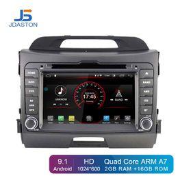 $enCountryForm.capitalKeyWord Canada - JDASTON Android 9.1 Car DVD Player For KIA Sportage 3 2010-2012 2013 2014 2015 Multimedia GPS Navigation 2 Din Radio Stereo