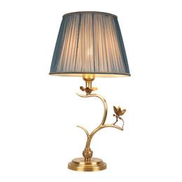 $enCountryForm.capitalKeyWord UK - New design American retro copper table lamps decorative luxury classic desk lamp hotel villa living room bedroom led table lights