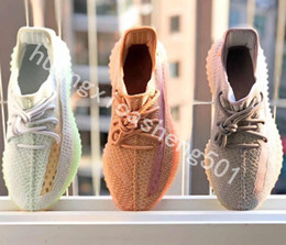 $enCountryForm.capitalKeyWord Australia - Bubble Wrap V2 Designer Sneakers New True Form Clay Hyperspace Static Best Quality Kanye West Men Women Running Shoes 5-13 Sport Trainer