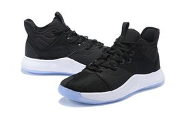 Cheap Shoes Usa UK - 2019 High quality Paul George PG 3 x EP Palmdale PlayStation Mens Basketball Shoes for Cheap USA Designer PG3 3s Sports Sneakers Size40-46