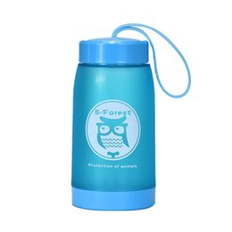 Chinese  New Arrival High Quaility, Watter Bottle Home owl thick kettle cups water bottles 320ml Water Bottle Animals #Q16R manufacturers
