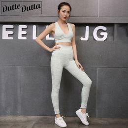 $enCountryForm.capitalKeyWord Australia - Sports Suits For Women Gym Tracksuit Fitness Yoga Sets Gym Clothes Sportswear For Women's Workout Sports Wear High Waist Legging Y190508