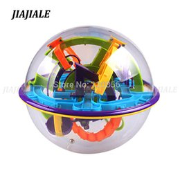 magic 3d puzzle ball Canada - 17CM 158 Steps 3D Puzzle Ball Magic Intellect Ball educational toys Puzzle Balance IQ Logic Ability Game For Children adults MX200414