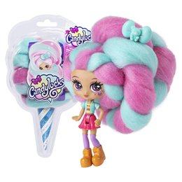 designed blinds NZ - JH Cotton Candy Doll Hair Design Hairdressing Doll Doll Blind Box 6 Items Are Delivered Randomly