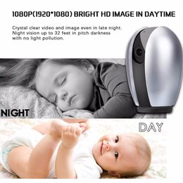 Chinese  2019 1080P HD Wireless Baby Monitor Portable WiFi IP Night Vision Baby Home View Audio Record Surveillance Home Security Camera manufacturers