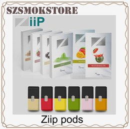 Pack Lab Australia - Authentic Ziip Labs Vape Cartridge 12 Flavors 1ml Prefilled Pod 4CT Pack JUUL Compatible Vapor Cartridges 100% Original 0266284-1
