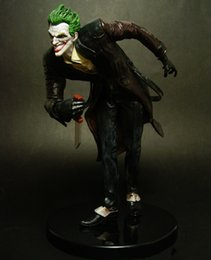 Wholesale DC Collectibles Joker Clown Prince Batman Comic Statue Action figure Arkham City