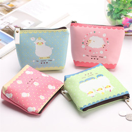 $enCountryForm.capitalKeyWord Australia - Candy-colored Cute Lamb Patterned PU Leather Small Bag female Girl Headset Line Coin Purse Card Bag Clutch Wallet ST359