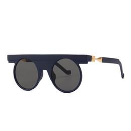87e22e0ddd Rondas oculares online-Gafas de sol redondas para mujer Metal Gótico  Steampunk Wrap Gafas graduadas
