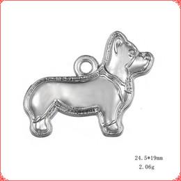 $enCountryForm.capitalKeyWord Australia - 30pcs Antique vintage Tibetan silver dog pet puppy charms metal dangle alloy pendants for necklace bracelet earring diy jewelry making