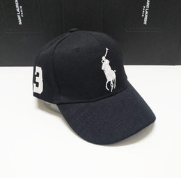 Chinese  2019 Designer Dad polo Hats Baseball Cap For Men And Women Famous Brands Cotton Adjustable Skull Sport Golf Curved Hat manufacturers