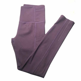 Wholesale good quality yoga pants for sale - Group buy High waist female yoga clothes ladies sports full leggings Ladies Pants Exercise Fitness Wear Girls good quality running leggings