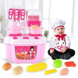$enCountryForm.capitalKeyWord Australia - RCtown Children Creative Simulate Kitchen Toy Set Kid's Fruit Vegetable Cooking Play-House Toy as Perfect Gift zk30 SH190907