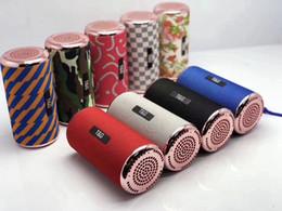 $enCountryForm.capitalKeyWord Australia - TG153 Fabric Sports Subwoofer Stereo Wireless Bluetooth Speaker Dual Diaphragm Outdoor Portable Audio Player Car FM Radio