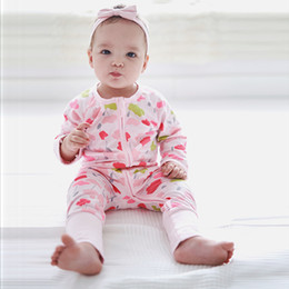baby wearing tracksuit UK - Infant Baby autumn boys zipper pink flower print wear girls long sleeve jumpsuit jacket hoodies tracksuit toddler boy winter rompers coats