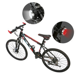 $enCountryForm.capitalKeyWord Australia - High Quality Bright Cycling Bicycle Bike 3 LED Head Front light 4 modes USB Rechargeable Tail Clip Light Lamp Waterproof Cycling Bike Light