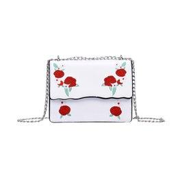 $enCountryForm.capitalKeyWord Australia - Women Girl Fashion Rose Print Flap Bag Pretty Crossbody Shoulder Bag Simple and stylish Borsa a tracolla New Arrival#40