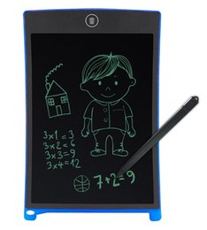 $enCountryForm.capitalKeyWord Australia - 10pcs 8.5inch LCD Writing Tablet Digital Digital Portable Drawing Tablet Handwriting Pads Electronic Tablet Board for Adults Kids Children
