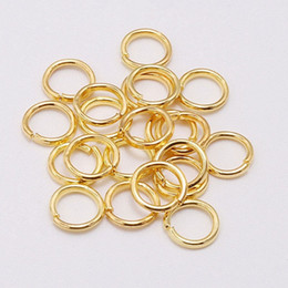 Wholesale jump animals online – design open gold jump rings diy decoration accessory iron metal small circle mm outer diameter fashion classic new jewelry findings free ship G