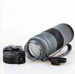 $enCountryForm.capitalKeyWord Australia - portable leak-proof outdoor riding bicycle cups children's bullet cover plastic cup sports bottle student outdoor sports cup